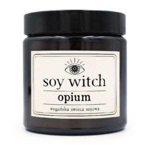 Świeczka sojowa - opium
