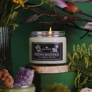 Rzepakowa świeczka - freesia magnolia